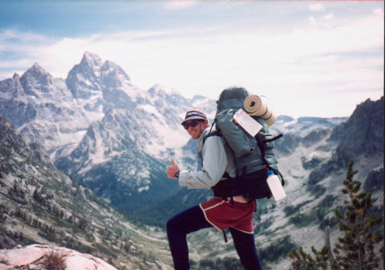 The first of a dozen multi-day backpacking trips in the Grand Tetons of Wyoming!